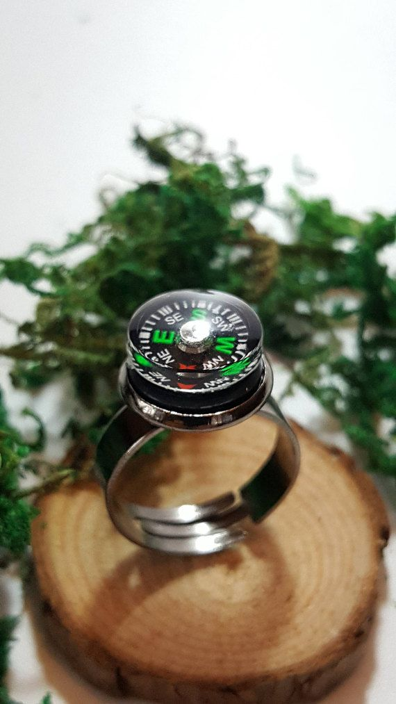 Real Working Compass Ring  Free and fast shipping to the US and Canada!