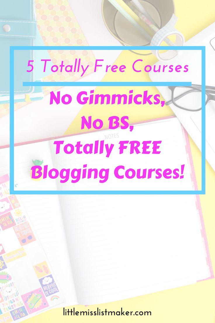 5 Totally Free Courses