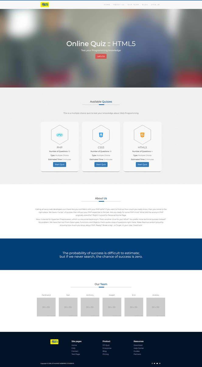 Checking Knowledge Quiz Storyline Template Web Design Websites Web Design Quotes Web Development Design