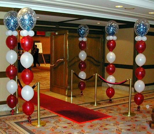 98 best images about balloons quicklink link o loon on for Balloon column decoration