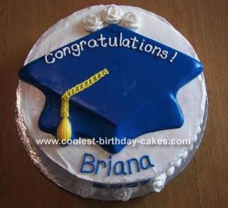 Round Graduation Cake Images : Coolest Graduation Cake 17