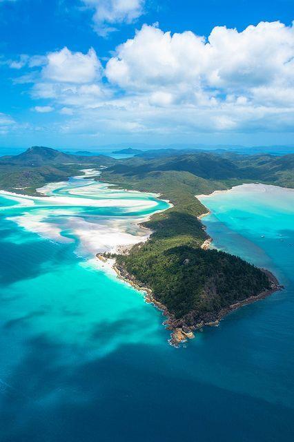 Whitehaven Beach, Whitsunday Islands, Queensland Australia