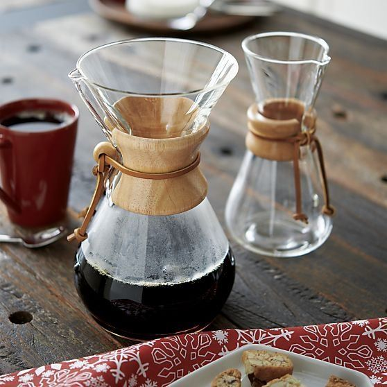 Chemex Ahşap Tutacaklı Kahve Makinesi 3 Cup