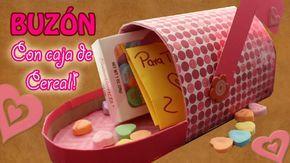Buzón para Amigo secreto! //Hecho con cajas de cereal//