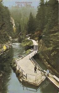 EDMUNDOVA SOUTĚSKA Hřensko, České Švýcarsko, Děčín (5667618037) - Aukro…