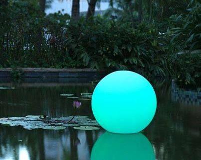 Esfera retroiluminada con leds.