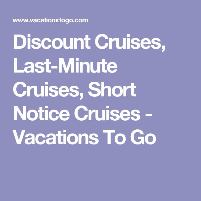 Best 25 discount cruises ideas on pinterest cheap for Last minute vacation ideas