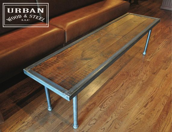 Sustainable Urban Wood And Steel Table. Best 25  Wood steel ideas on Pinterest   Steel table  Welding