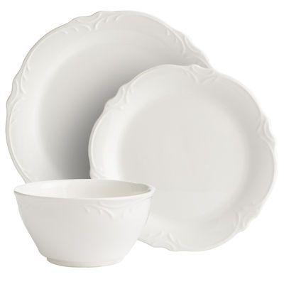 Madeline Dinnerware - Pier 1 -http://www.pier1.com/Madeline-Dinnerware/PS37559,default,pd.html?cgid=white-dinnerware