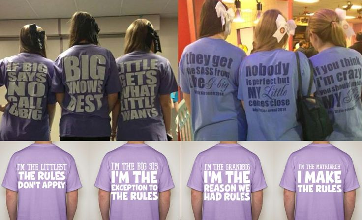 Sorority family shirts Big little reveal  Grand big Three years in a row Panhel panhellenic