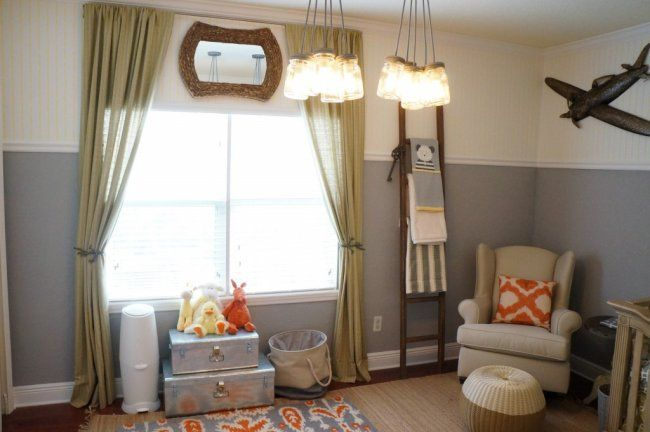 We're sharing how the right lighting in the nursery can make a big statement over on @BabyCenter's blog! #nursery #decor: Masons Jars Lighting, Baby Boys Nurseries, Wall Color, Children Lighting, Projects Nurseries, Baby Rooms, Nurseries Idea, Baby Boy Nurseries, Baby Nurseries