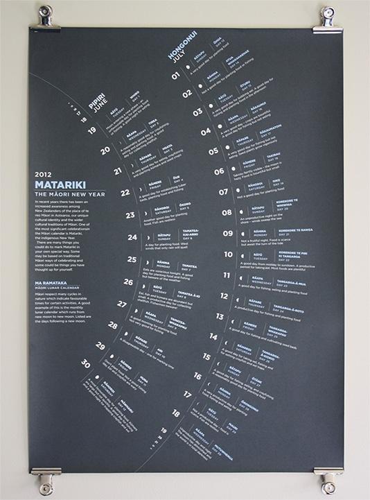 Matariki: poster