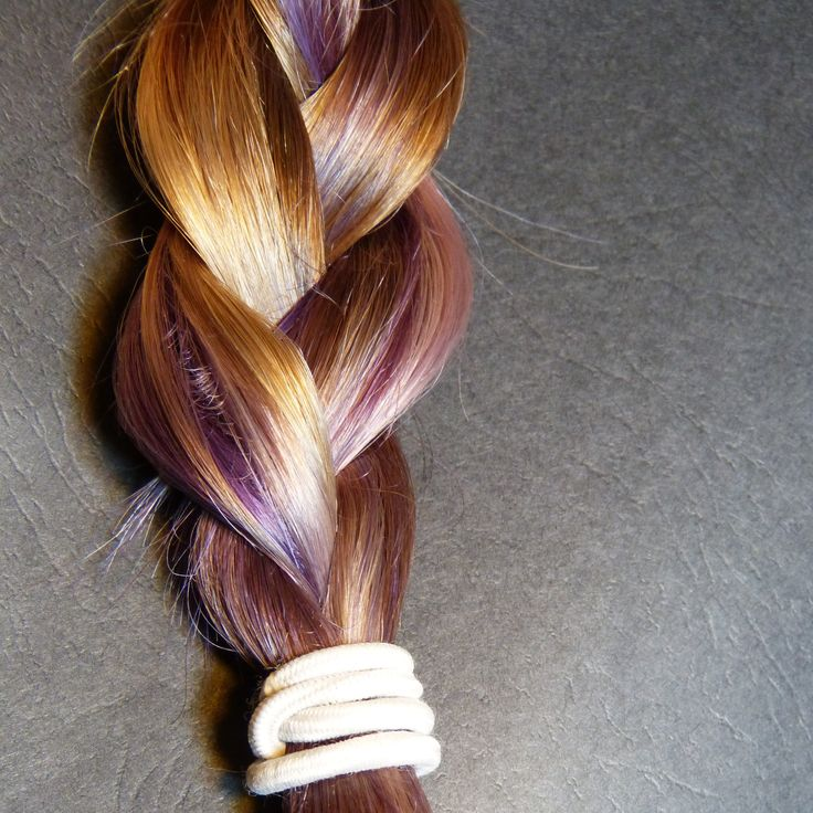 My hair has at least 100 different shades in it.#Hair #braid #colors