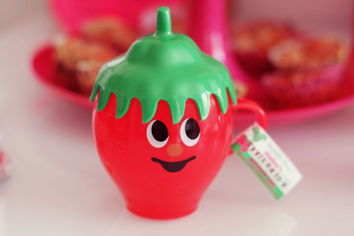 gladee  verre strawberry
