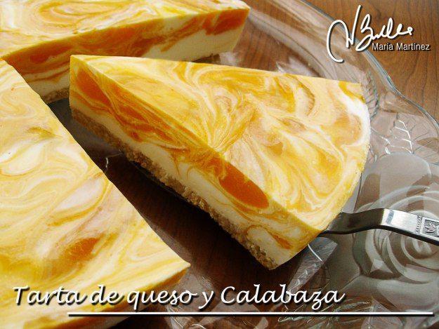 Tarta Dukan de queso y Calabaza,  de RecetasDukanMariaMartinez.com