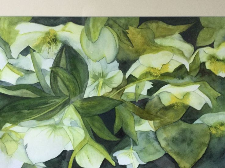 Spring Greens by Janice Smith winner of St Cuthberts Mill Award
