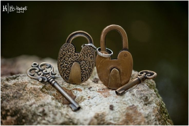 Lock Unity: Both the bride and groom pick a lock and place their wedding bands on it to signify individual and separate lives. During the ceremony, the locks are unlocked and the rings are placed on the spouses ring finger. Then, the now empty locks are locked together.