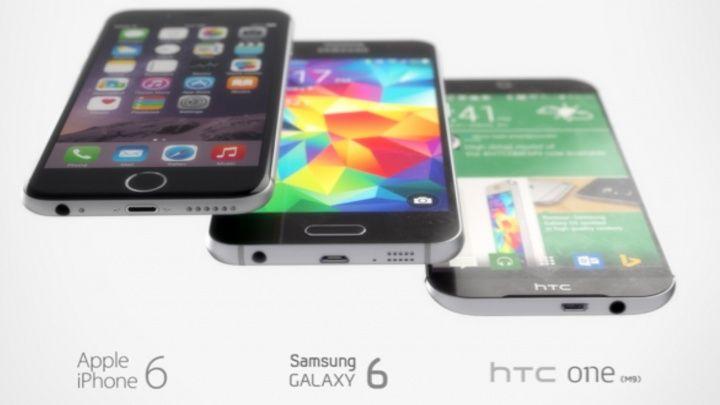 Galaxy S6, HTC One M9 ve iPhone 6 İşlemcileri Karşı Karşıya