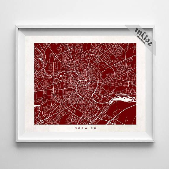 Norwich Map, England Print, Norwich Poster, United Kingdom Art, Wedding Gift, Office Decor, Posters, Artwork Sale, Christmas Gift, Wall Art. PRICES FROM $9.95. CLICK PHOTO FOR DETAILS.#inkistprints #map #streetmap #giftforher #homedecor #nursery #wallart #walldecor #poster #print #christmas #christmasgift #weddinggift #nurserydecor #mothersdaygift #fathersdaygift #babygift #valentinesdaygift #dorm #decor #livingroom #bedroom