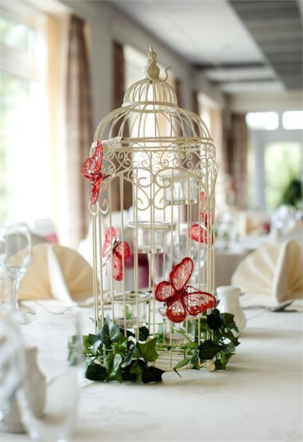 Variety of Table Decorations - Best Western The Dartmouth Hotel, Golf and Spa