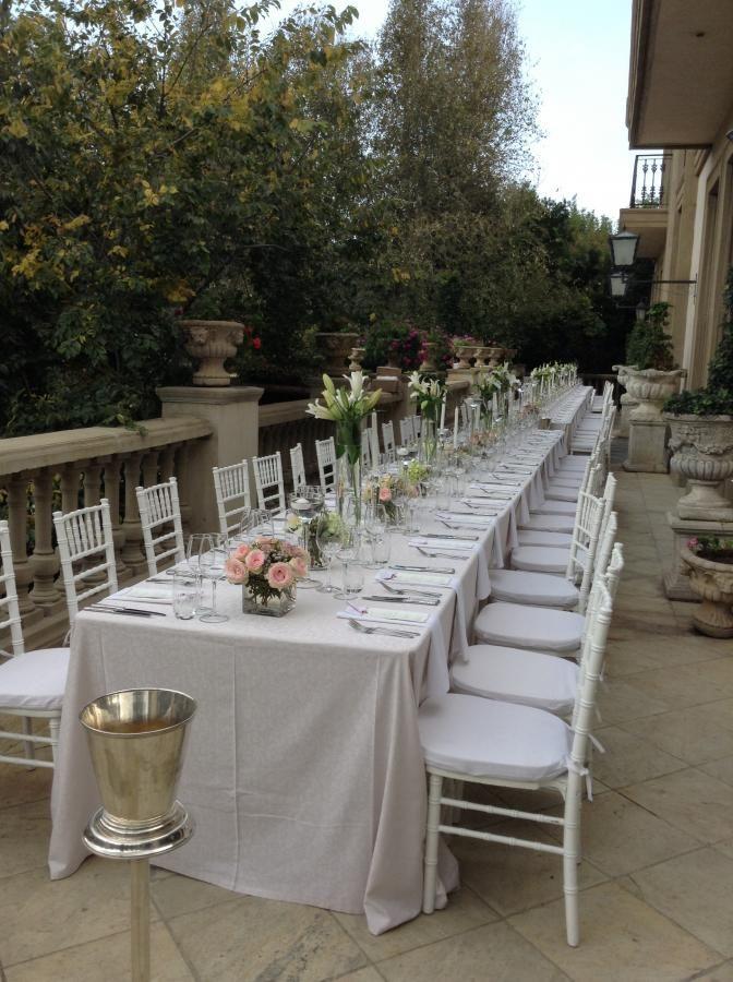 Wedding set up in the Cellar 2