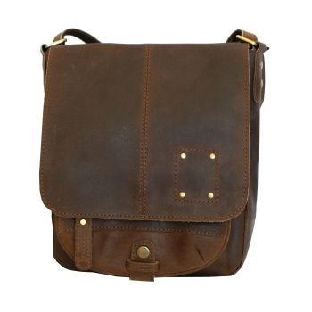 Alberta Fine Leather | Nakota Messenger Bag
