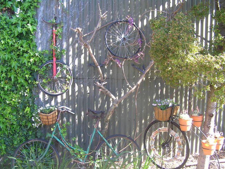 growing bicycle art