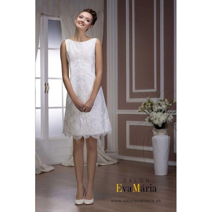 Biele svadobné šaty Amalia