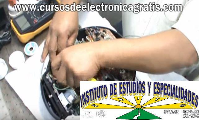CURSOS DE ELECTRÓNICA GRATIS: REPARACIÓN DE RADIOGRABADORA PARTE 7