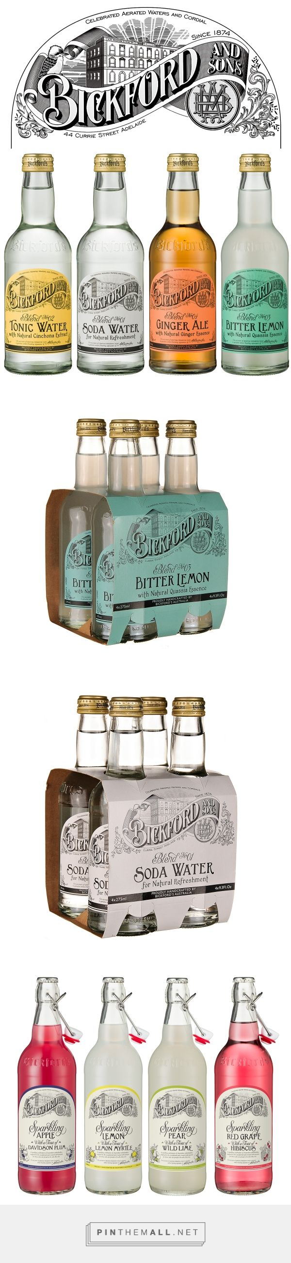 Bickford and Sons Beverage Packaging by Bobby Haiqalsyah | Fivestar Branding – Design and Branding Agency & Inspiration Gallery