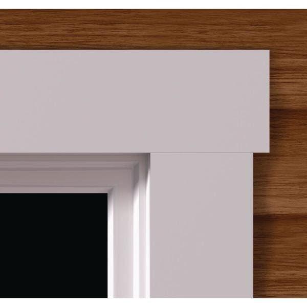7827 5 8 In X 3 1 2 In X 96 In Pvc White Flat Casing 0782708007 The Home Depot In 2021 Interior Door Trim Interior Window Trim Window Trim Exterior
