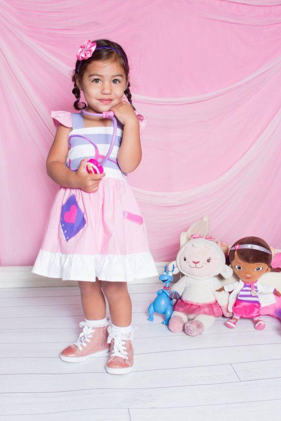 Custom Boutique Clothing  Doc McStuffins Applique  Sassy by amacim - Size 4T