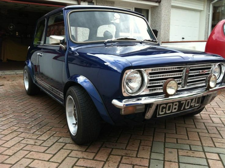 British Leyland Morris Mini Clubman 1275 Gt, 1973, Classic Car, Mot & Taxed.   I sooooo want one.