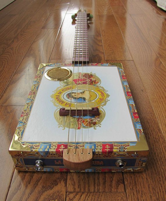 cigar box guitar plans instructions
