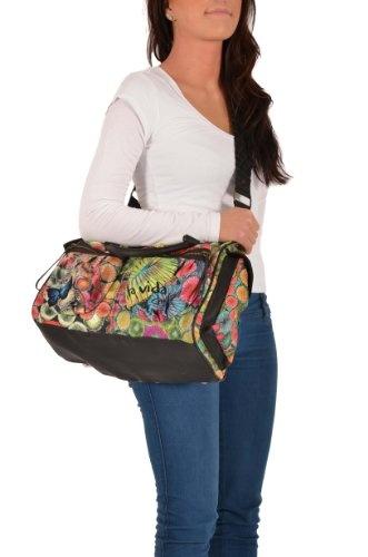 Desigual Damen Tasche -C.O.London Nylon- + Gefällt mir! Sticker | Desigual Mode