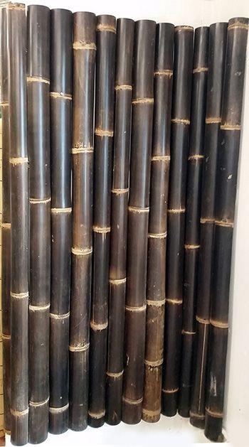 Bamboo Poles Wall
