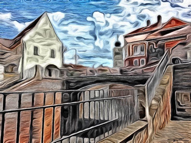 Name: Sibiu Author: Erik Teodoru ID number: 111 Year: 2017 Software Tool: Gimp 2.8.20   Model: --- Original Source Image: Internet photo