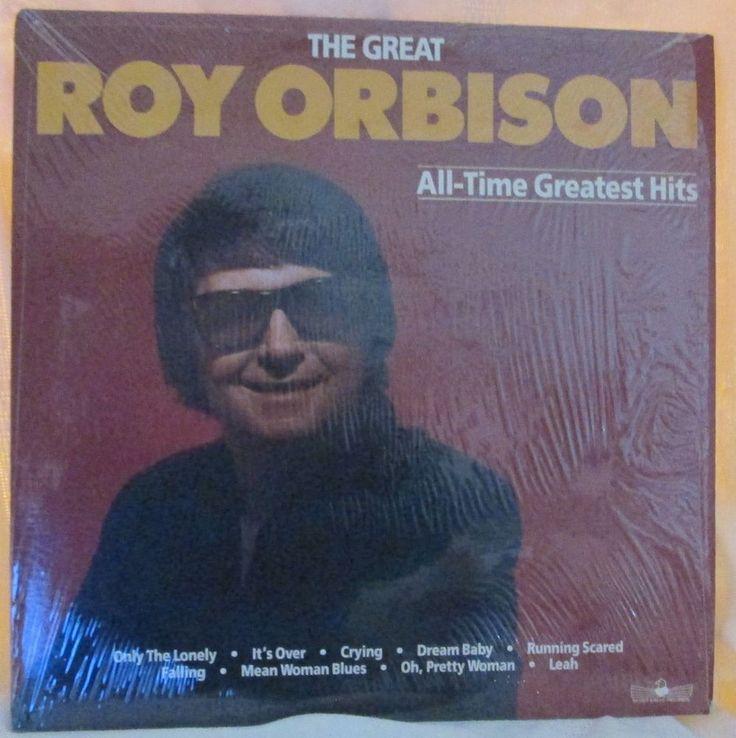 2 LP Set The Great Roy Orbison Vinyl 33RPM LP Silver Eagle SE 1046 #BluesRockFolkCountryRockRocknRollRockabillyPsychobillySingerSongwriter