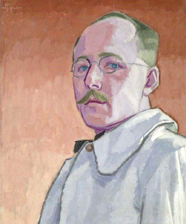 John Lyman, Self-Portrait, 1918, oil on canvas, Musée national des beaux-arts du Québec