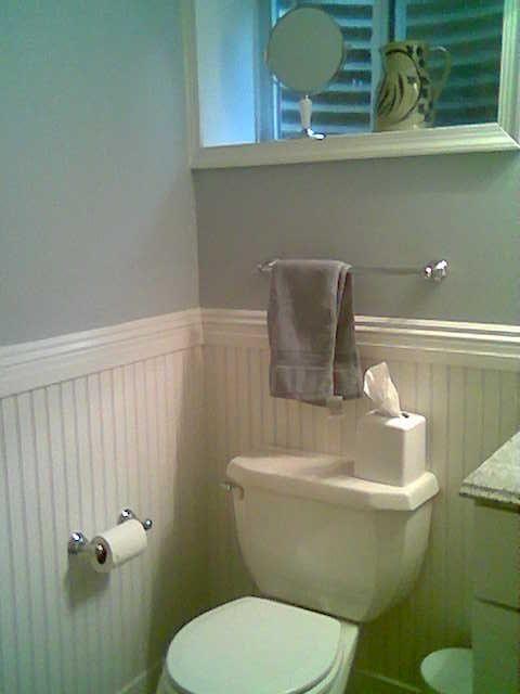 wainscoting ideas bathroom | Bathroom with wainscoting | Ideas For the Home