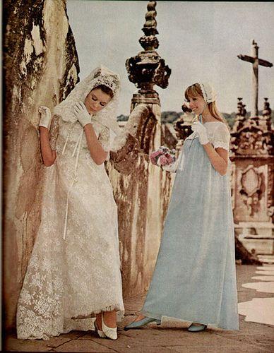 Lace magazines 1967 vintage brides lace high modern brides brides