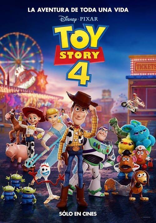 Toy Story 4 (2019) Pelicula Completa en español Latino