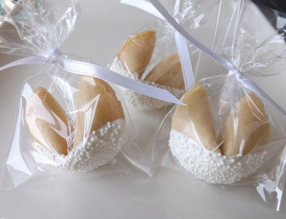 75 Wedding Fortune Cookies, Wedding Favors, Bridal Party, Baptism, Christening, Anniversary, Personalized