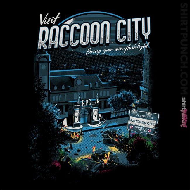 Visit Raccoon City Resident Evil Wesker Resident Evil Resident Evil Video Game