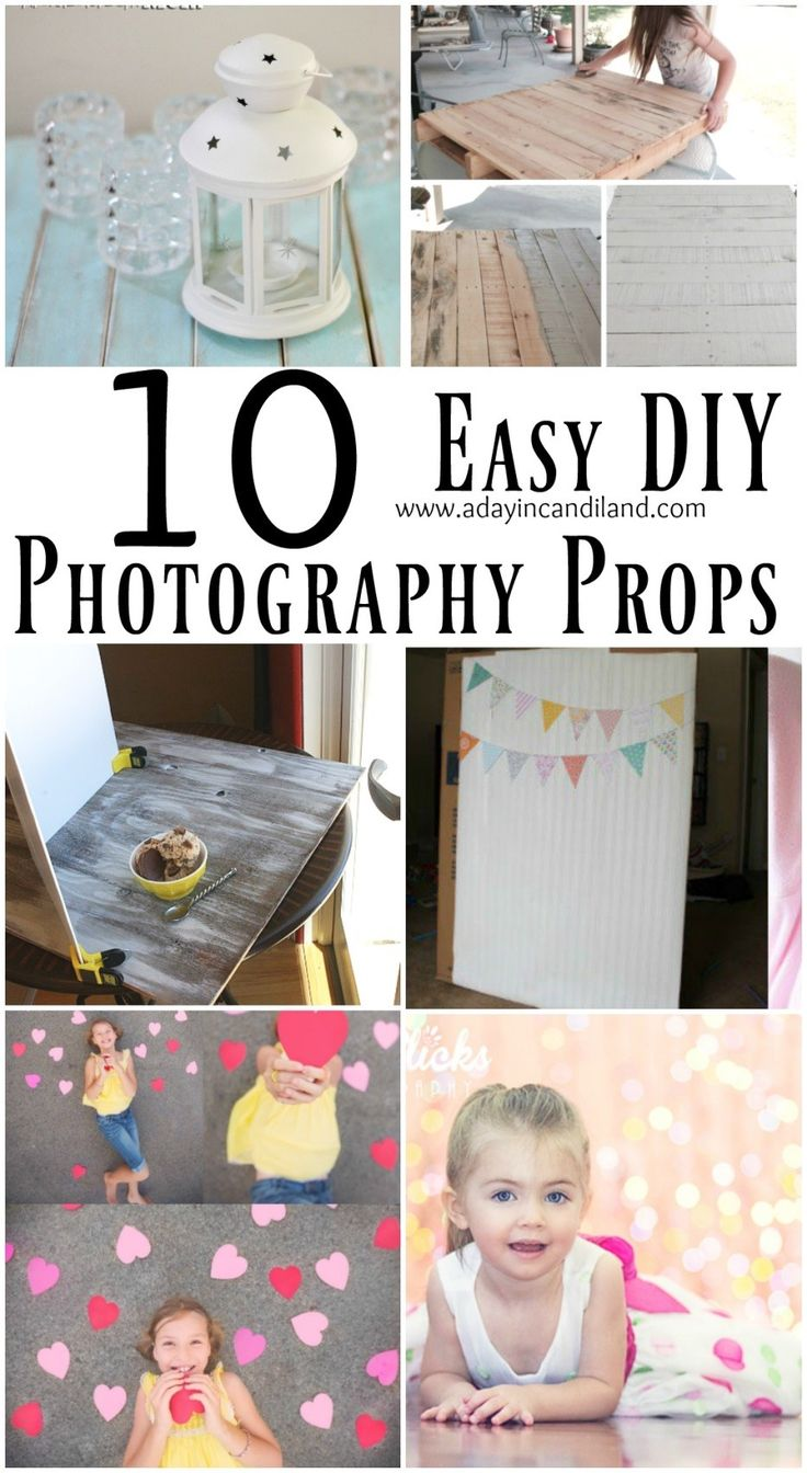 how to make photography backdrops and props