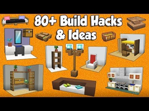80+ MINECRAFT BUILD HACKS AND IDEAS – YouTube