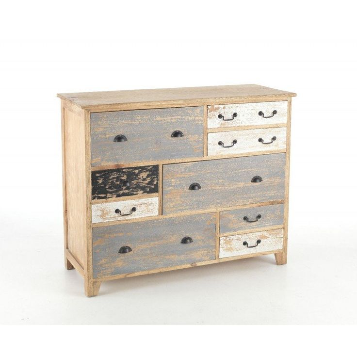 Best Piccadilly Shabby Chic Painted Long Chest Of Drawers 640 x 480