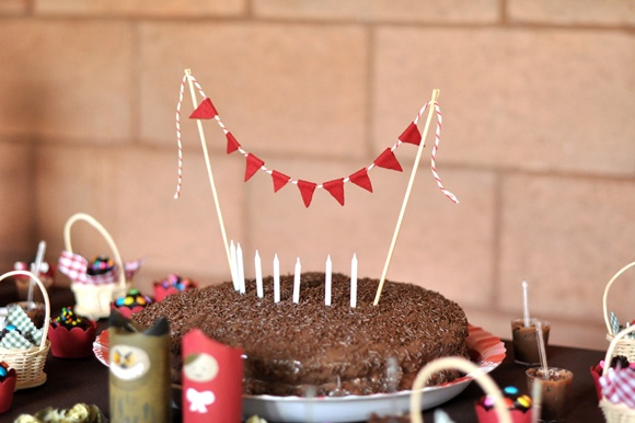 Little Red Riding Hood Themed Party | The Sweetest Little Kids Party