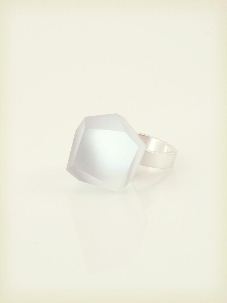 Vu - alice blue, silver ring - =PYO=