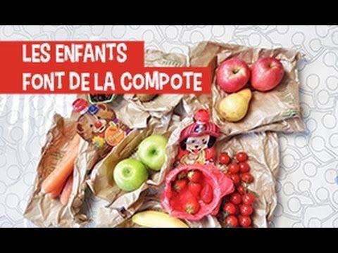 La compote des enfants. Pleins de fruits et des légumes. Une recette de compote atypique heathly et facile.